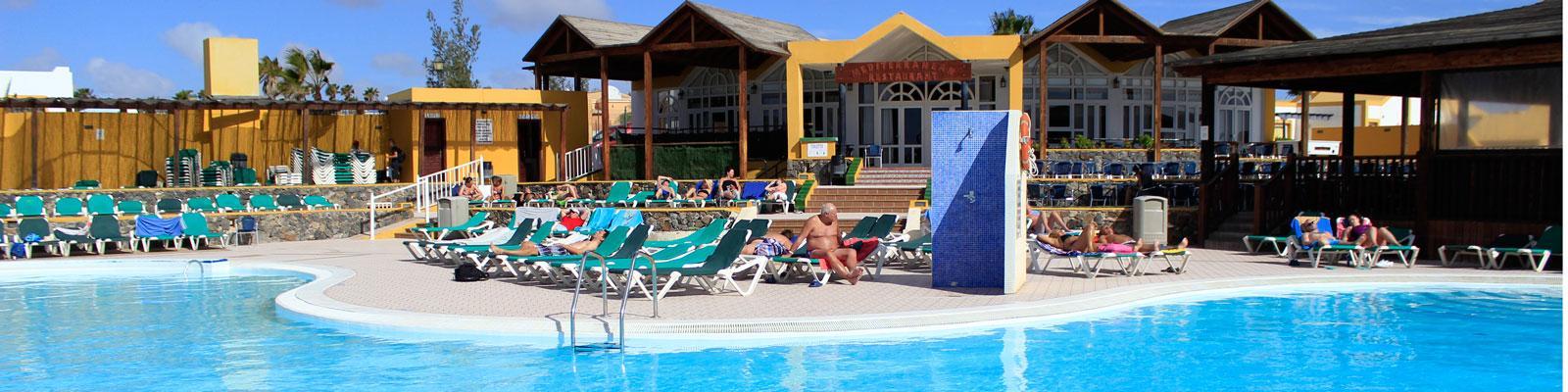 Economico villaggio vacanza per famiglie a Fuerteventura Caleta Dorada